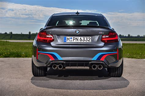bmw m2 performance new photos of the bmw m2 with m performance parts
