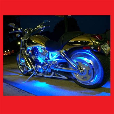 motorcycle led lights strips bright led lighting kit