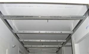 Faire Un Faux Plafond : faire un faux plafond en placo menuiserie image et conseil ~ Premium-room.com Idées de Décoration