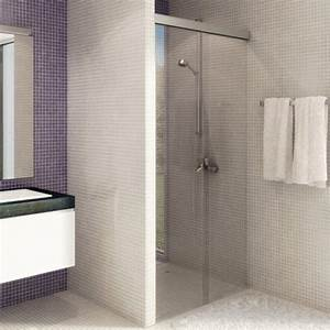 systeme porte coulissante pour douche kit eku banio light With portes coulissantes pour douche