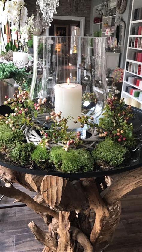Weihnachtsdeko Für Den Gartentisch by Herbst Deko Weihnachten