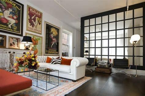 spiegel fã r wohnzimmer ausgefallene einrichtungsideen für wandspiegel visuelle vergrößerung
