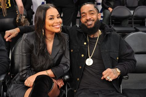 Nipsey Hussle's Long Time Lover Finally Resurfaces After