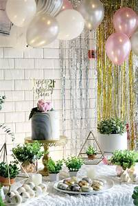Whimsical, Marble, Birthday, Party
