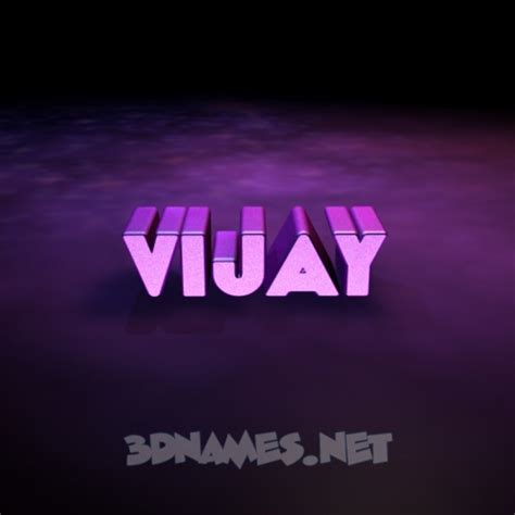 3d Name Wallpapers Vijay Search what s in a name vijay the story hem