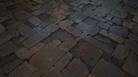 stone floor tile  realtime  behance