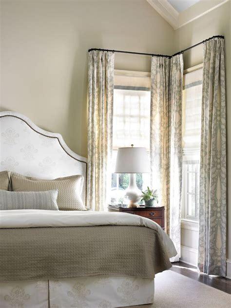 25 best ideas about corner curtains on corner