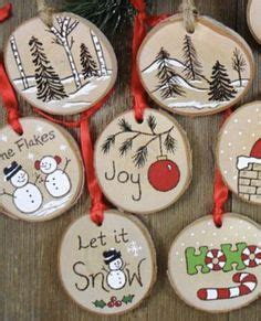 wood slice ornaments christmas signs diy cheap