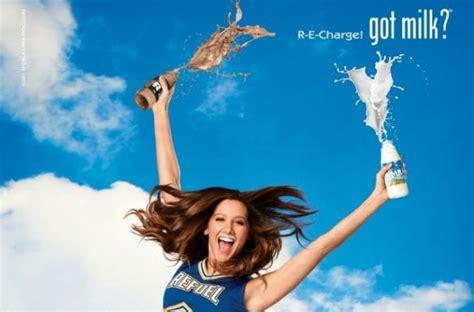 Ashley Tisdale Stars In New 'got Milk' Ads