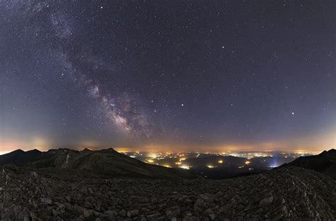 Apod July Summer Planets Milky Way