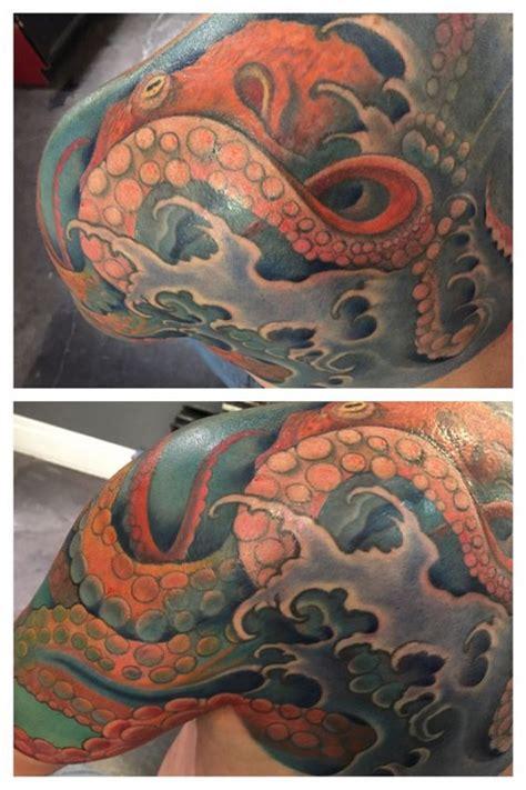original octopus tattoos  meanings april