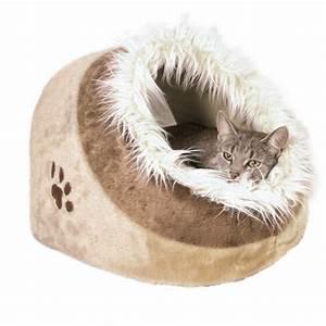 Panier Pour Petit Chien : panier minou beige brun t1 pour chat et petit chien confort du chat sur animalerie boutique ~ Teatrodelosmanantiales.com Idées de Décoration