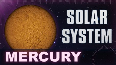 mercury solar system universe planets facts