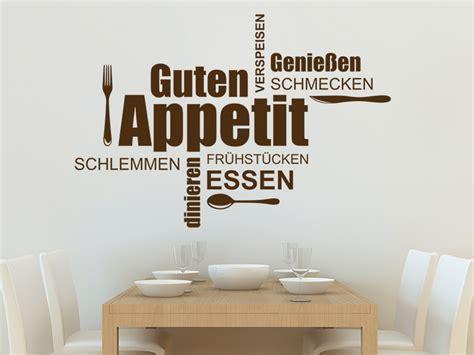 Wandtattoos Kuche Esszimmer by Wandtattoo Wortwolke Guten Appetit Essen Wandtattoos De