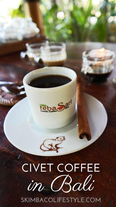 civet coffee tasting visiting teba sari farm  bali