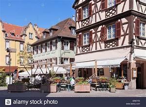 Restaurants In Colmar : restaurant wistub brenner colmar alsace france europe stock photo 83415136 alamy ~ Orissabook.com Haus und Dekorationen
