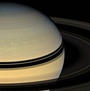 APOD: 2008 June 9 - Saturn's Rings from the Other Side