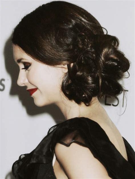 Nina Dobrev Hairstyles: Gothic Look   Pretty Designs