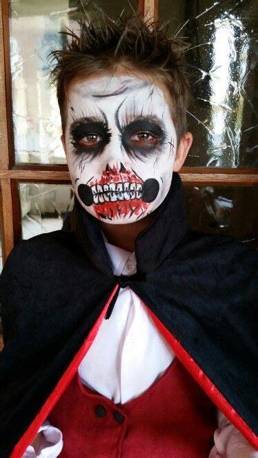 dracula schminken scarry dracula paint schminken bodypaint kid dracula and faces