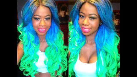 My Mermaid Ombre Hair!
