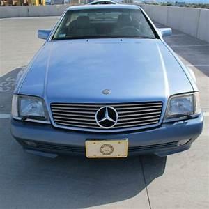 1991 Rare Ice Blue Mercedes Benz Sl
