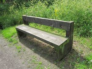 Free Wooden Park Bench Plans