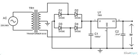 Cell Phone Charger Circuit Diagram