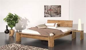 Günstige Betten 180x200 : g nstige m bel online bestellen bett morten sumpfeiche massiv natur ge lt doppelbett aus ~ Indierocktalk.com Haus und Dekorationen