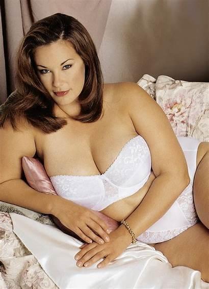 Plus Barbara Bikini Brickner Models Kate Dillon