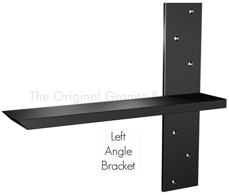 free hanging shelf bracket the original granite bracket