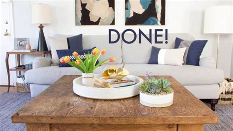 Learn how to style a beautiful tray and how to use grounding and anchoring to make your home look less cluttered. How To Style Your Coffee Table - YouTube