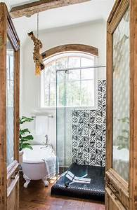 This, Bohemian, Bathroom, Is, The, Perfect, Cozy, Retreat