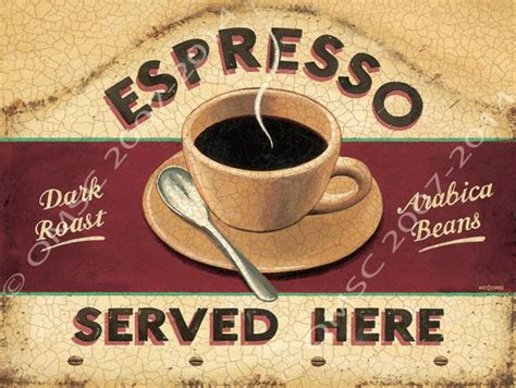 Espresso Served Here Metal Sign, Kitchen Coffee Sign Cheap Coffee Table Online India Gloria Jeans Fiji Menu Starbucks Drink Types Toronto Fish Tank Tables Kmart Why Caveman Bangi