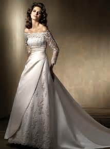 wedding gowns with sleeves types of wedding dress sleeves sang maestro