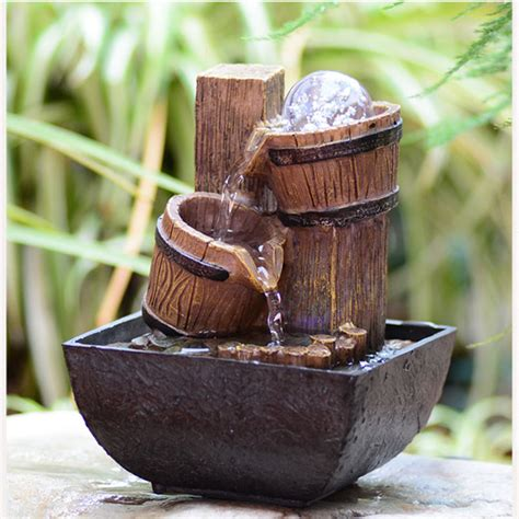 mini water fountain for desk decorative water wheel promotion shop for promotional
