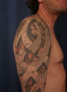 3d Tattoos Kosten : 30 very creative 3d looking tattoo designs for inspiration designbeep ~ Frokenaadalensverden.com Haus und Dekorationen