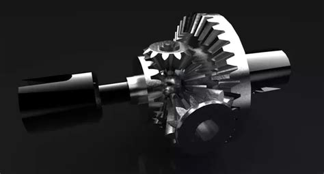 What Types Of Gears Used In Differentials And Gear Boxes