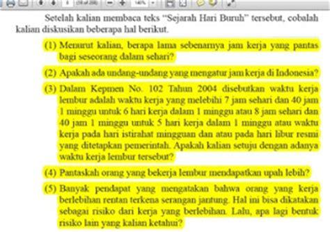 Kunci jawaban bahasa indonesia smp kelas 7 semester ganjil. kunci Jawaban Tugas bahasa Indonesia kelas 12 Kurikulum ...