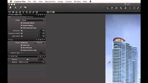 The Lcc Tool In Capture One Pro 7
