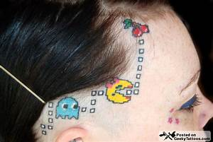 The Best Pac-Man Tattoos Ever @ Geeky Tattoos