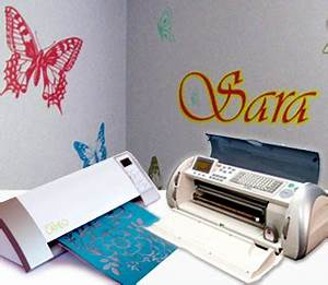 A basic guide to cutting vinyl with a cricut or cameo for Vinyl letter making machine