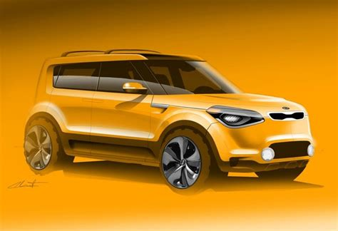 Kia Soul Suv by Kia Soul Suv On The Way Mysterious Sketch Surfaces