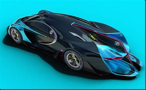 » Concept Bugatti Next Future Technology