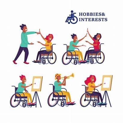 Wheelchair Dancing Clip Illustrations Vector Graphics