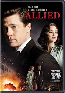 Allied Movie DVD Cover