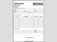 4+ generic invoice template word Invoice Template Download