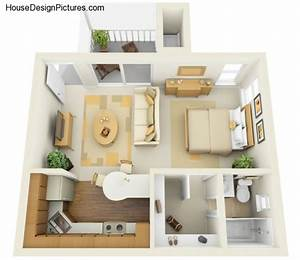 Small Apartment Design With Floor Plan ...