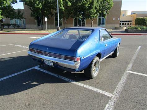 1969 Amc Amx Car Auto American Motors Muscle Car Vintage