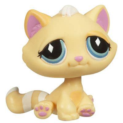 littlest pet shop singles kitten  pet lps merch