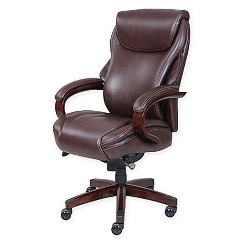 la z boy office chair 2 buy la z boy 174 hyland leather executive office chair in 29299